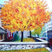 City trees part 2 Quebec by NancyvandenBoom