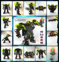 Bionicle MOC: Lord Gweeb by Mana-Ramp-Matoran