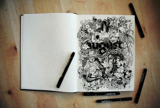 Doodle for 8August Studio by 12epitaph