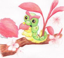 Caterpie by rayechu
