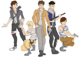 One Direction: Post Apocalypse by IridescentThunder