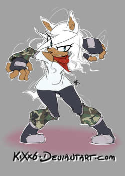 Clarissa Clear the Hedgehog: :Contest Entry:: by KiXx6