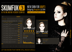 SKUMFUK 3 - Skin for AIMP3 by d1sapp3ar