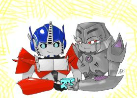 TFP Chibi~ by BlueFire795