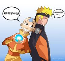 Aang should be  hokage by shadowninja425