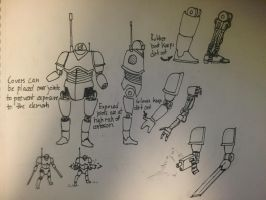 ORB robot soldier by GalacticVikings