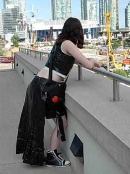 Duct Tape Disaster : Final Fantasy VII : Tifa by Lossien