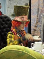 Mad Hatter Tea Party by PhantomHatter91