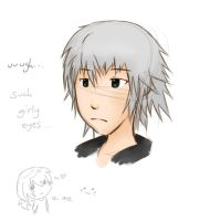 Another Riku practice.. :D by bluebird113333