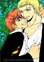 Ron and Draco Lovebite Yaoi by Kibou-h