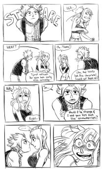 Natsu x Lucy moments 3: Could eat them up by LuLucho1