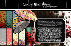 Land of Giant Flowers patterns by AntitimeTT