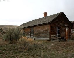 Bannack Ghost Town 22 by Falln-Stock