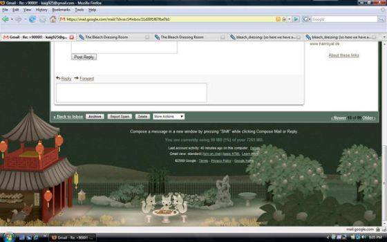 Gmail Theme - Tea House 2 by shiawase-ai