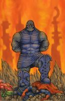 Darkseid commission by ECTmonster
