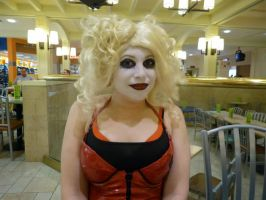 Harley Quinn Makeup by LolitaLibrarian