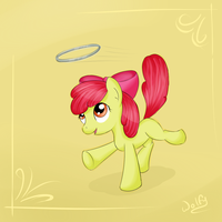 Applebloom by maxca