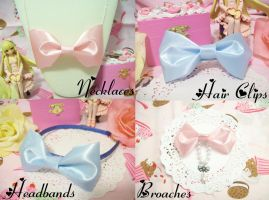 Sweet Lolita Bow Collection by lessthan3chrissy