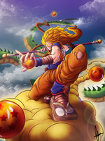 Hunt for the dragonballs by BourneLach