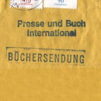 Buchersendung Stamp by StooStock