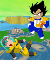 Fun on Namek by Dbzbabe