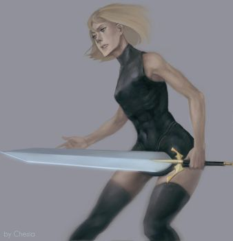 Claymore Clare by MeryChess