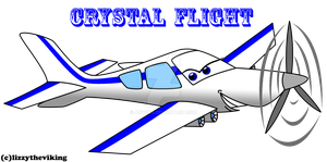 planes cars OC: crystal flight by auveiss