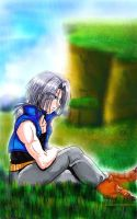 Tenko72 - Future Trunks by ellana