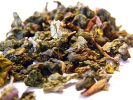 Oolong green tea stock photo by lonnietaylor
