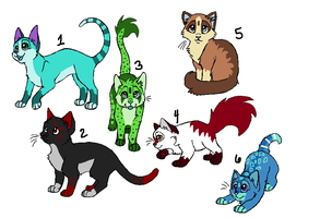 Kitty Adopt AUCTION [OPEN] by BluestarzStrike
