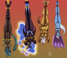 Upside Down Evil - Commission by DAkuroihoshi