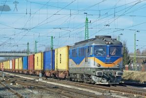 60 1107 with freight in Gyor by morpheus880223