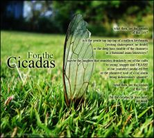 For the Cicadas by blinddayze