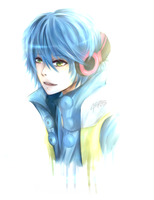 Day 2: Aoba Seragaki from Dramatical Murder by Akeita