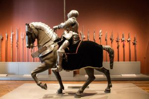 Knight and Horse 1 by photoshopranger
