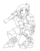 Lineart: Pindad ANOA by vjptox