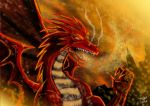 Red Dragon II by adamantis