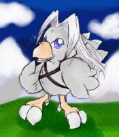 Chocobo Sephiroth by AnaraTwice