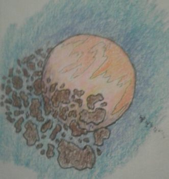 Asteroid Belt by Euthanasia843