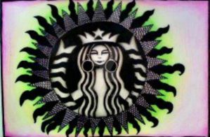 starbucks logo mod by octopusssy