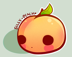 Silly Peach by Naashi