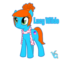 Lucy Wilde - pony version by VanessaGiratina