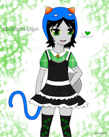 Nepeta Meido by Moonlit-x-Madness