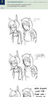 Ask Us! 55 .:Terrible Things:. by ask-finnandfionna