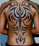 Tribal with Dragon Scales by AstroTatts