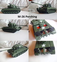 M26 Pershing by Teratophoneus