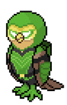 Noctowliver Queen(Green Arrow/Noctowl) by AresolHero