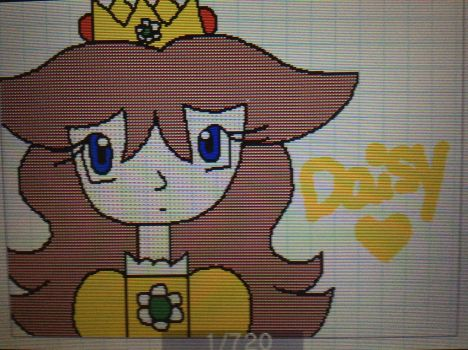 Princess Daisy -  Flipnote Studio 3D by TheFactsOfLife