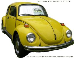 Vintage VW Beattle by FairieGoodMother