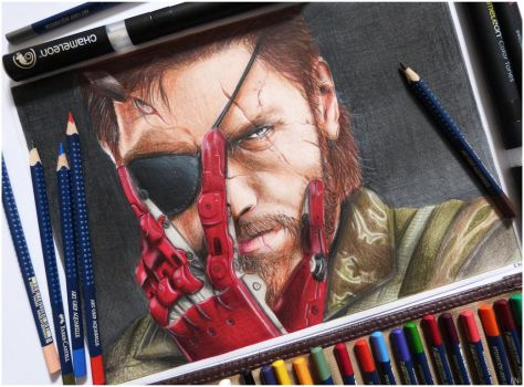 Solid Snake by Eni-Art
